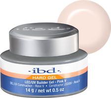 IBD LED/UV Builder Gel Pink V (Warm Pink) - 0.5oz # 72174 (AUTHENTIC)