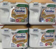 (4 tubs) Similac Pro-Sensitive Infant Formula with 2'-Fl Human Milk