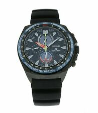 Seiko Prospex World Time Solar Chronograph Men's 44.5mm Watch SSC551