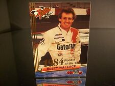 Rare Rusty Wallace Wheels Rookie Thunder 1984 Rookie Of The Year 1993 Card #25