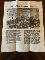 Star Spangled Banner Replica Parchment Document