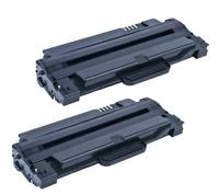 2 PCS MLT-D105L Toner Cartridges For Samsung ML-2525 ML-2525W SCX-4623F SCX-4600