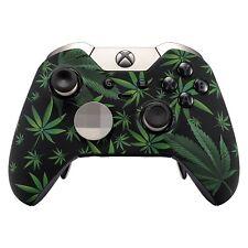 """""""420 Black"""" Original Xbox One ELITE UN-MODDED Custom Controller Unique Design"""