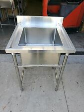 Brand New Commercial Stainless Steel Single Sink