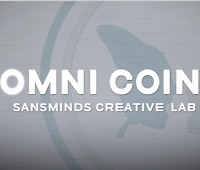 Omni Coin US version (DVD and Gimmicks) by SansMinds Creative Lab Street Magic