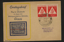 Germany nice stamp dealer ad cover  local use    1948             KL0511