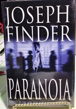 Paranoia - 1st Edition/1st Printing, Joseph  Finder, Mint, SIGNED