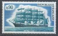 France 1973 MNH Mi 1839 Sc 1377 Five-master France II,extremely large tall ship
