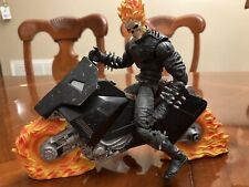 Marvel Legends Series 3 Ghost Rider Figure With Motorcycle