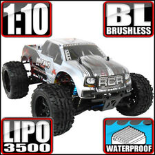 Redcat Racing Volcano EPX Pro 1:10 Electric Brushless Monster RC Truck Silver