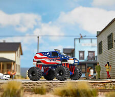 Busch 44657 Dodge Ramvan Monster Truck,Stars&Stripes, H0 Automodell 1:87