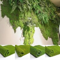 AU_ 1x1m Simulation Artificial Moss Grass Turf Mat Lawn Garden Landscape Decor C