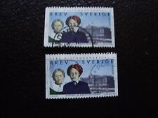 SUEDE - timbre yvert et tellier n° 2060 x2 obl (A29) stamp sweden (Z)