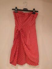 RARE Anthropologie lil by Fleur Wood Blazing Rays Dress Sheath with Straps XS 0