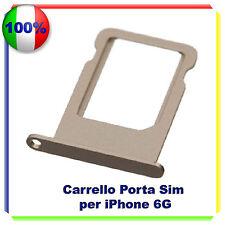 SIM Card Tray Slot Porta Scheda Vassoio SLOT holder per  iPhone 6 GOLD