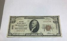 McMinnville  Tennessee, First national bank , 1929 VF