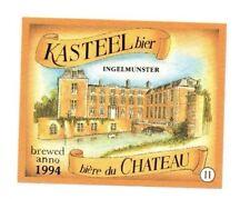 Belgium - Beer Label - Kasteel Bier, Ingelmunster - 1994