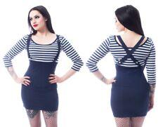 Poizen  Rockabella Compass Dress Nautical Rockabilly goth RRP £29
