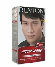 New Branded Revlon Top Speed Hair Color For Man Natural Black 70 Ammonia Free