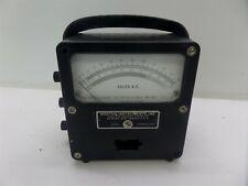 Vintage Weston Ac Voltmeter Zero Corrector Meter Model 433