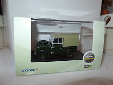 Oxford LAN188009 1/43 O Échelle Land Rover I Bronze Vert Toile Arrière