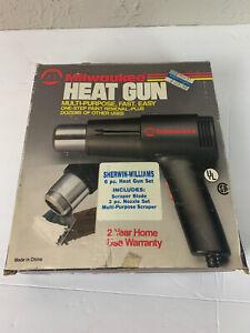 Milwaukee Heat Gun 1220HS Dual Heat 4100BTU in Original Box w/ Manual