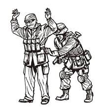 CMK 1:35 Iraq Warrior + MP Soldier 2 Resin Figures Kit #F35199