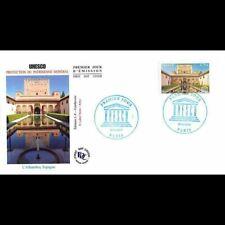 FDC - UNESCO - L'Alhambra (Espagne), oblit 30/11/10 Paris