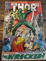 Thor 148 beat but complete 1st Appearance of The Wrecker Marvel Comic