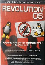 REVOLUTION OS DVD Hackers Programmers Silicon Valley Microsoft Open Source Linux