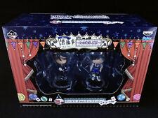 Black Butler Kuroshitsuji Book of Circus Figure set Ichiban Kuji Ciel Sebastian