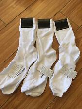 3 Pairs Of NWT Banana Republic White Trouser Socks