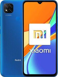 XIAOMI REDMI 9C 4G 64GB+3GB RAM NFC 6,53'' TELÉFONO MÓVIL LIBRE SMARTPHONE AZUL