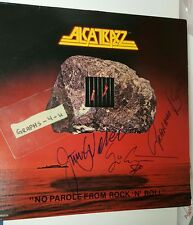 Graham Bonnet Signed Alcatrazz autograph Yngwie Jimmy Waldo COA proof