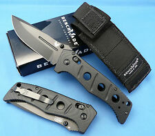 "Benchmade 275Bk Adamas Knife 3.82"" Black D2 Blade New Edc Tactical Duty Blade"