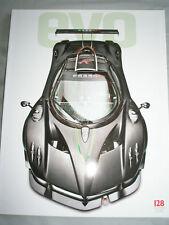 Evo No 128 Mar 2009 Boxster S, Zonda R, Vantage V12