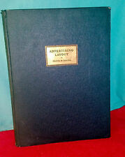 ADVERTISING LAYOUT Frank H. Young 2ND AUG ED 1928 Hardcover BOOK Illustrated ADS