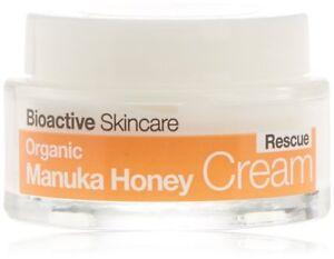 A Dr. Organic Bioactive Skincare Organic Manuka Honey Rescue Cream 50ml