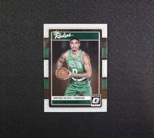 2017-18 Donruss Optic Jayson Tatum The Rookies Card 3 Boston Celtics