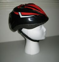 Youth Bike Helmet size Small / Medium (50-56 cm) Black & Red *NEW Without Tags*
