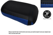 Royal blue & Negro Personalizado de vinilo cabe Honda VTX 1800 02-04 Trasero Cubierta de asiento solamente