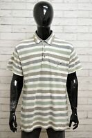 Polo WRANGLER Uomo Taglia XL Maglia Maglietta Camicia Shirt Man Cotone a Righe