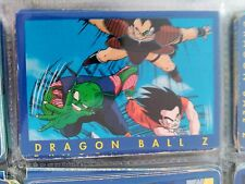 4 DRAGON BALL Z PANINI SERIE 1 AZUL BLUE SERIES  COLLECTION CARD