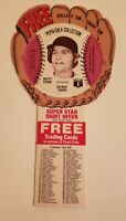 1977 Pepsi Baseball Glove Rusty Staub #29 Detroit Tigers Set Break