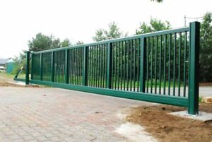 Up to 20Ft   Industrial Sliding Cantilever Driveway Gates   MADE IN UK
