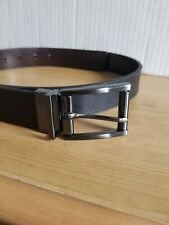 Men's Swiss Gear Black Leather Belt Size Large