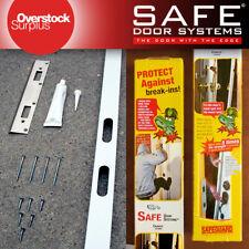 Home Security Door and Frame Reinforcement Kit - Kick Proof, Prevent Break Ins