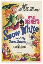 "WALT DISNEY'S SNOW WHITE MOVIE POSTER 12"" X 18"""