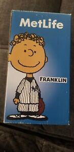 New York Yankees Franklin Bobblehead. SGA NIB MLB. Met Life