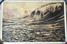 Shepard Fairey (OBEY) - Dark Wave - Open Edition - SIGNED - 2020
